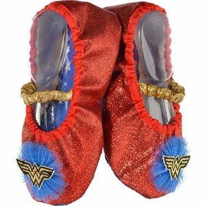 Child Glitter Wonder Woman Slipper Shoes